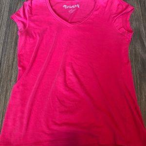 Pink Short Sleeve Shirt